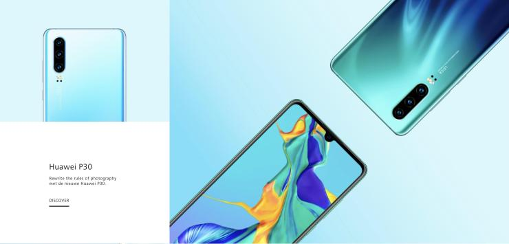 Huawei P30 & P30 Pro page accidently goes live on the official site 6