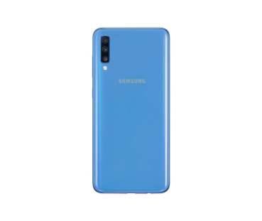 Galaxy A70_Blue_Back