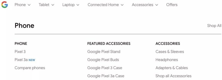 Google Pixel 3a & Pixel 3a XL confirmed by Google 1