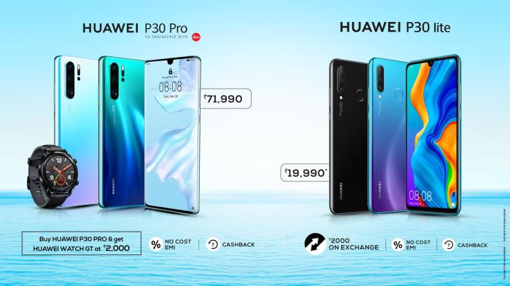 Huawei P30 Pro & P30 Lite launched in the Indian market 4