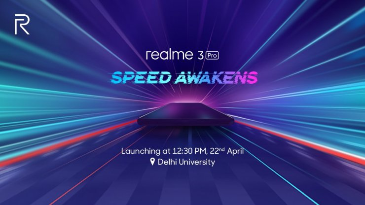 Realme 3 Pro launch happening on April 22nd in India 1