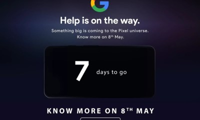 Google Pixel 3a & Pixel 3a XL launching in India on 8th May 7