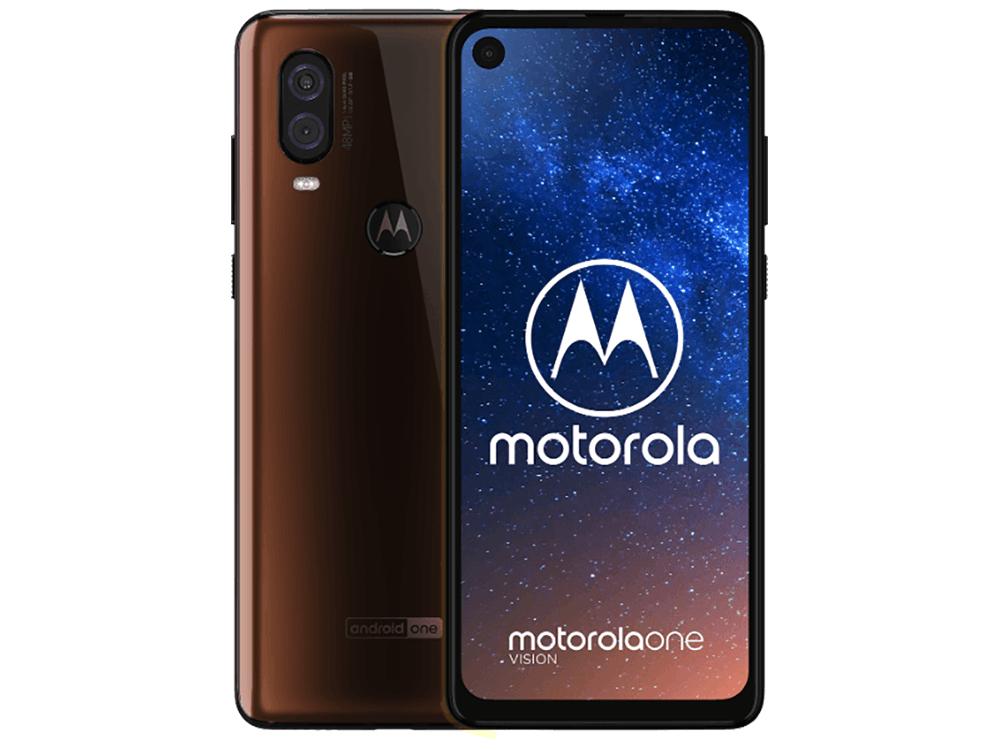 Motorola One Vision in Blue & Bronze Brown leaks in press renders 5