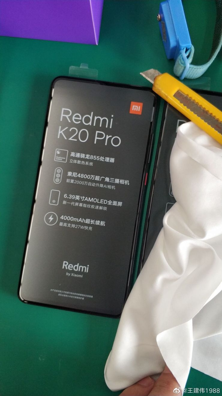 Redmi K20 Pro retail box leaks, specs confirmed as well 3
