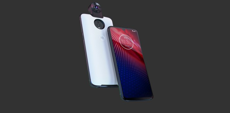 Moto Z4 official with Snapdragon 675 & 48MP rear camera 2