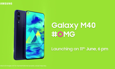 Samsung Galaxy M40 launching on June 11th in India 1