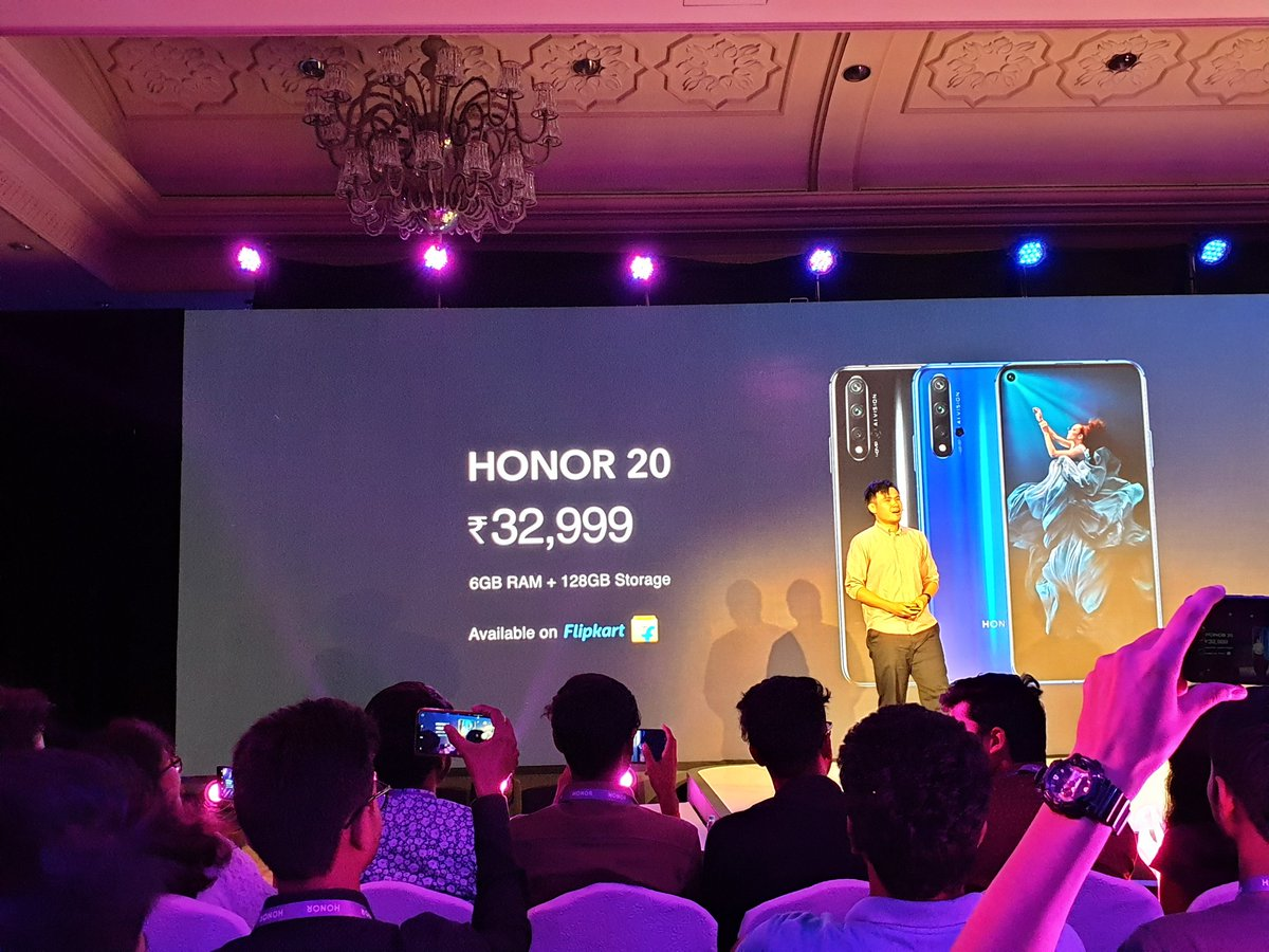 Honor 20, Honor 20 Pro & Honor 20i launched in India 11
