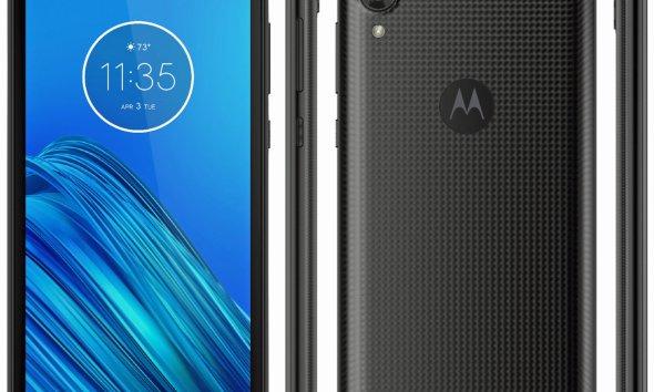 Moto E6 press render reveals huge bezels & single rear camera 18