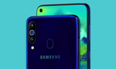Samsung Galaxy M40 official with Infinity-O screen & Snapdragon 675 1