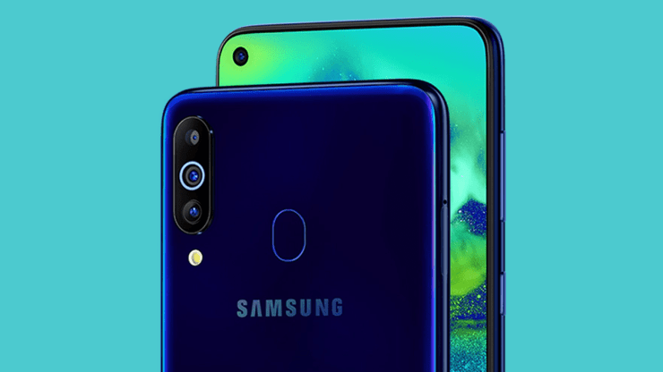 Samsung Galaxy M40 official with Infinity-O screen & Snapdragon 675 4