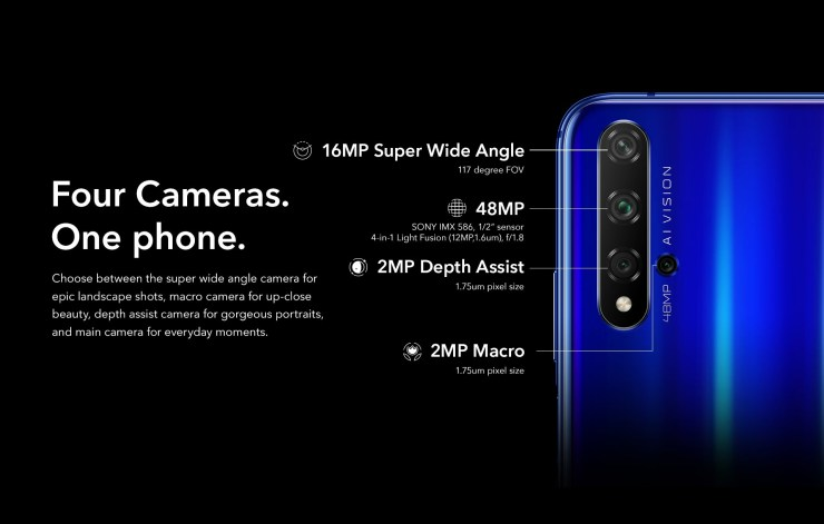 Honor 20, Honor 20 Pro & Honor 20i launched in India 3