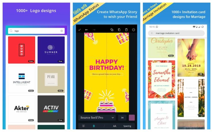 Canva Best Instagram Story Template Apps