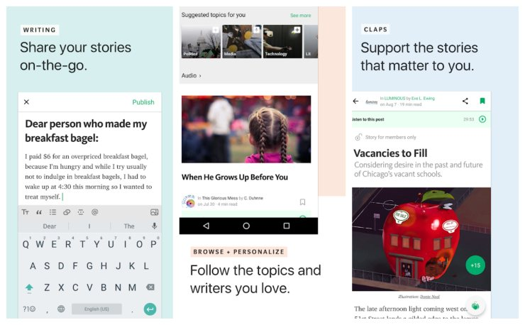 Medium Best technology news apps for android