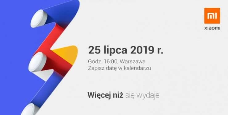 Xiaomi Mi A3 Launch Date for Poland