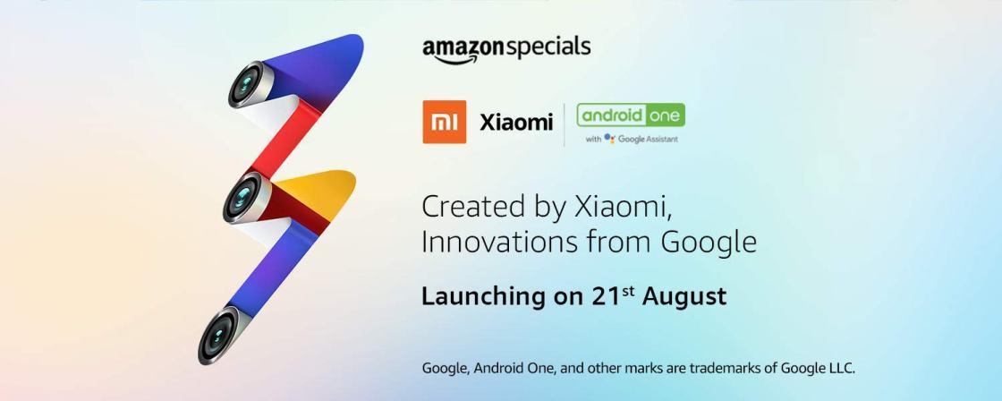 Xiaomi Mi A3 will sell via Amazon