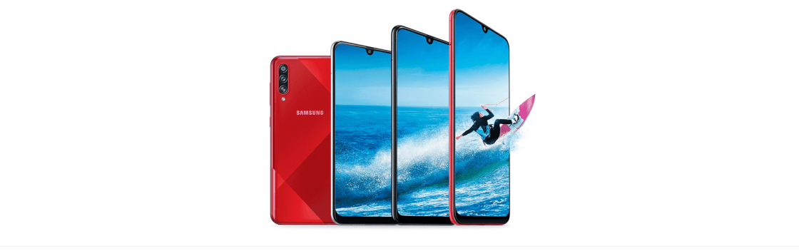 Samsung Galaxy A70s Design