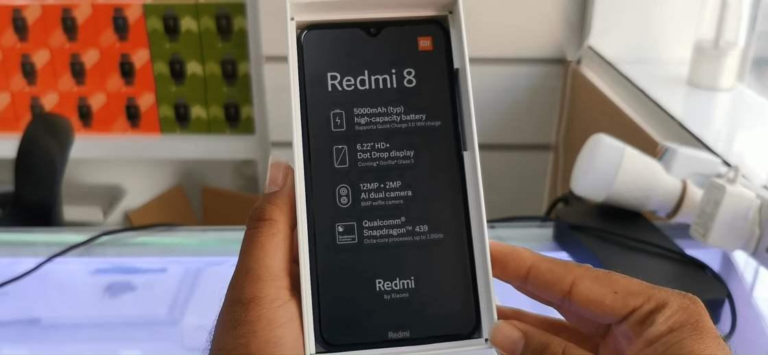 Redmi 8 Unboxing