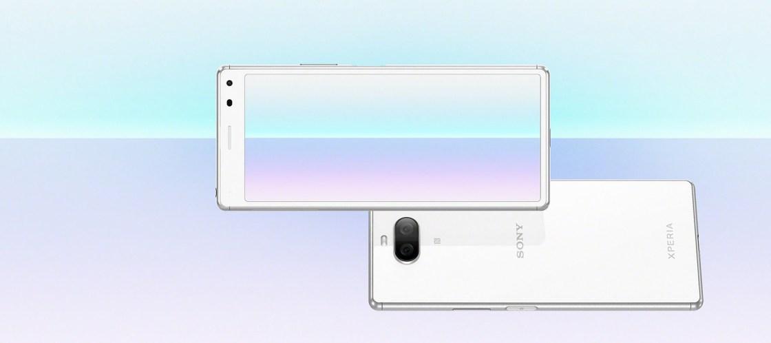Sony Xperia 8 Display