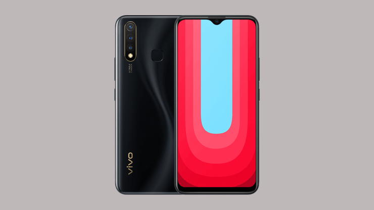 Vivo U20 in Black