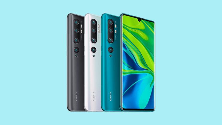 Xiaomi Mi CC9 Pro Design