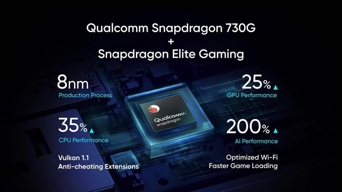 Realme X2 Snapdragon 730G SOC