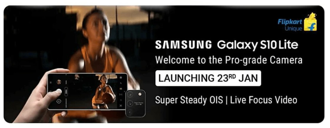 Samsung Galaxy S10 Lite Launch Date in India