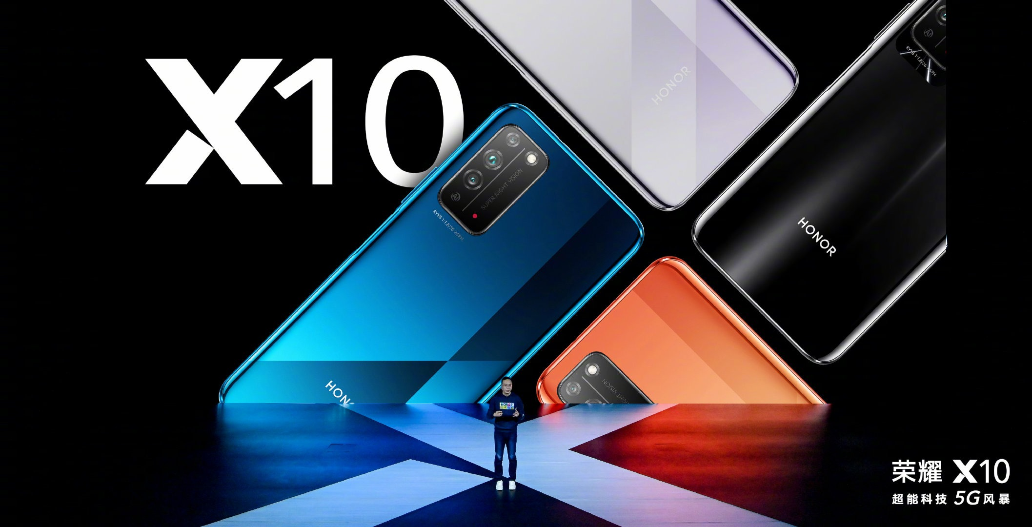 Honor X10 With Kirin 820, Pop-Up Selfie Camera And 90Hz Display Launched
