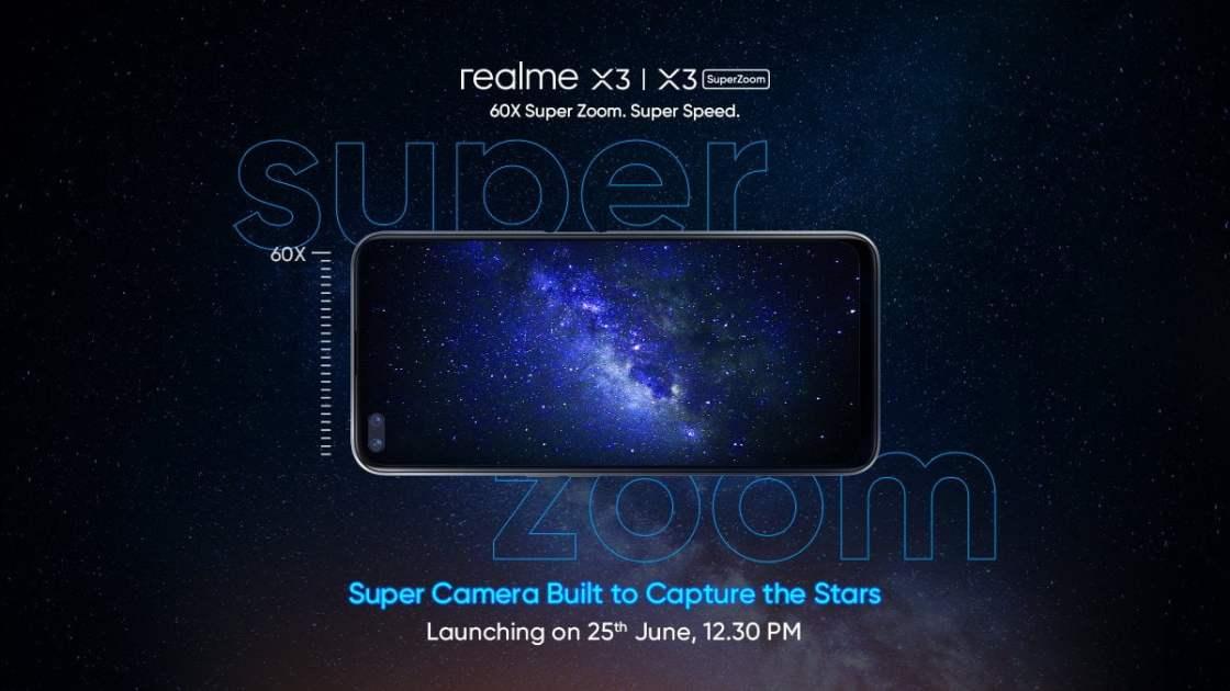 Realme X3 & Realme X3 SuperZoom Launch Date