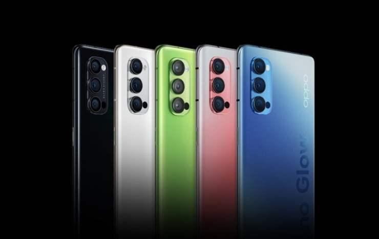 Oppo Reno 4 Pro Colors