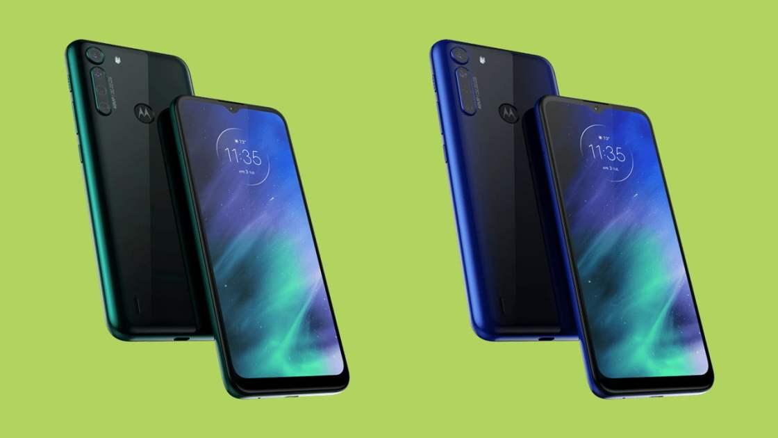 Motorola One Fusion Design
