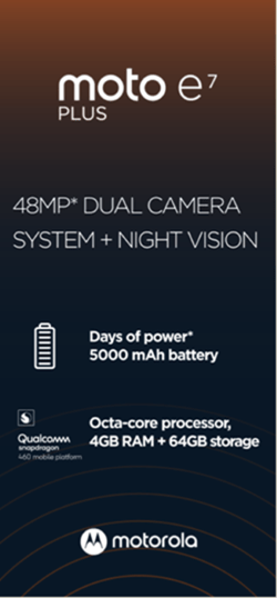 Moto E7 Plus Specifications