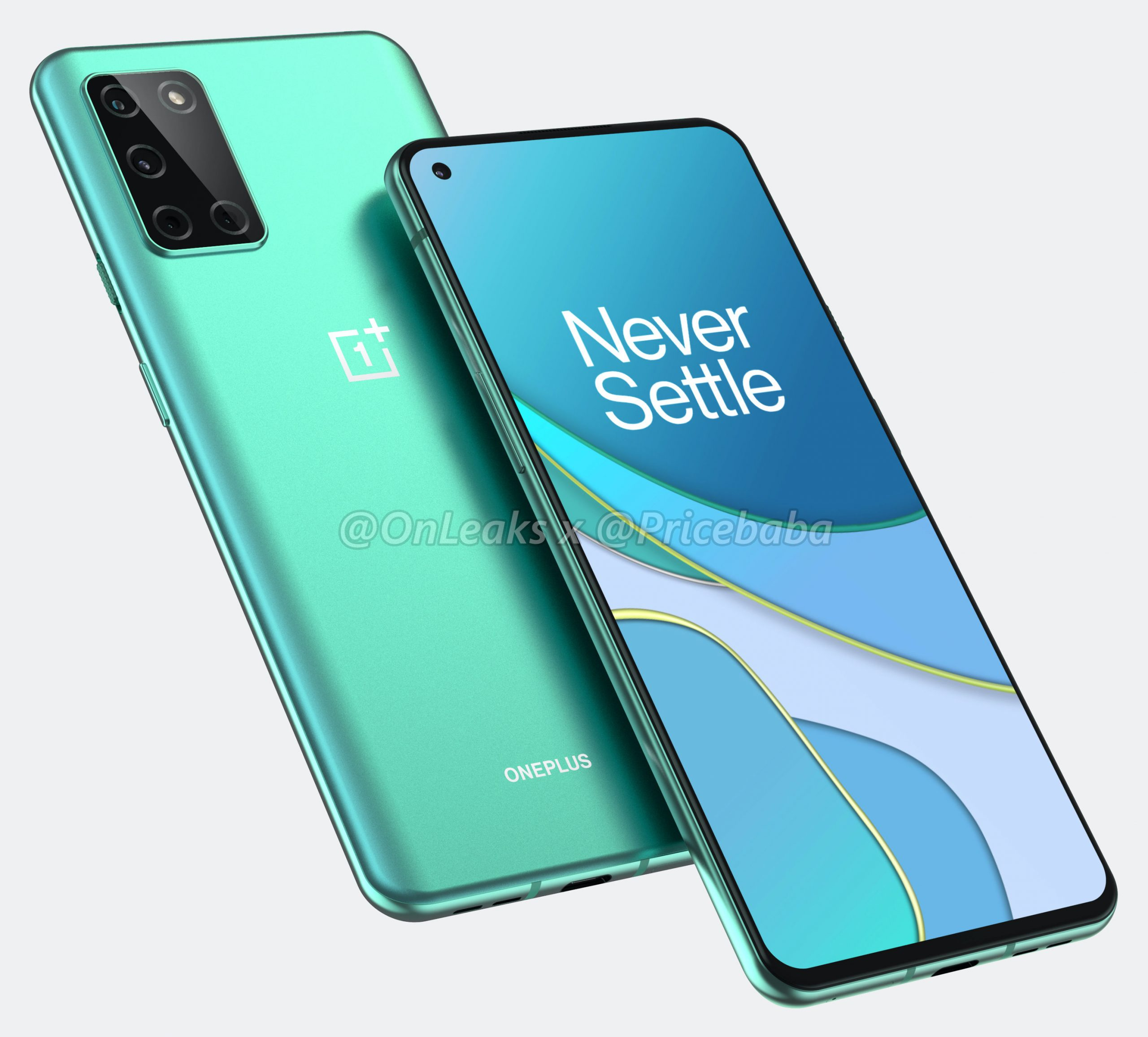 OnePlus 8T renders leak, showing new placement for the rear cameras - comments