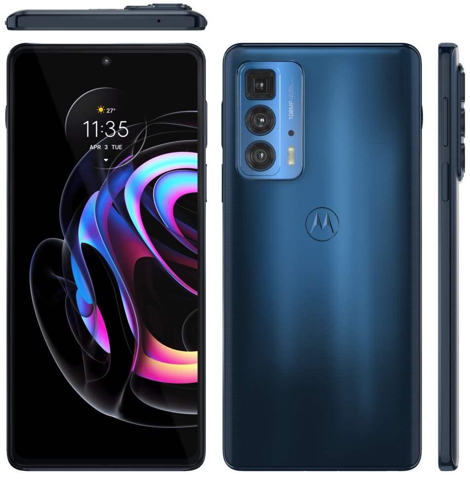 Motorola Edge 20 Pro Official Render