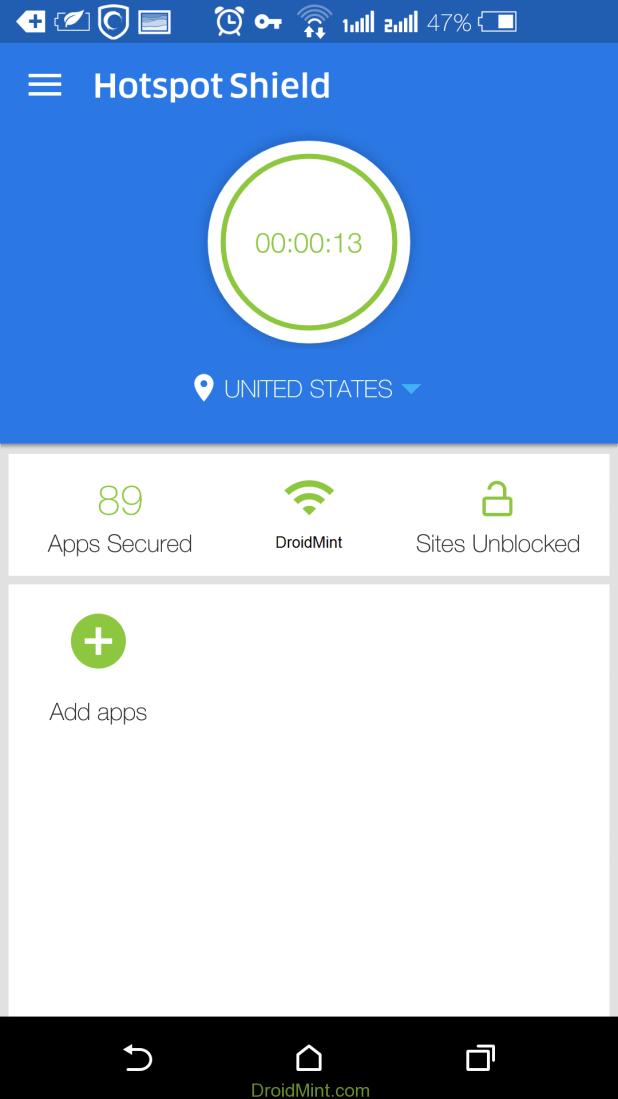 Hotspot Shield VPN ELITE 4.1.1 MOD APK1