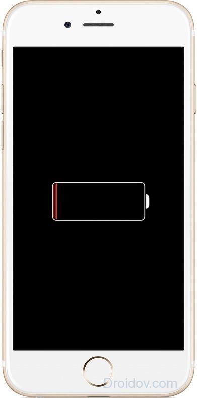Айфон не включается