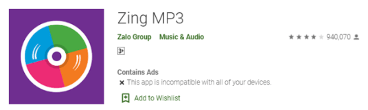 Zing MP3 Download for PC