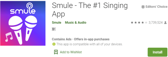 Smule For Windows & Mac