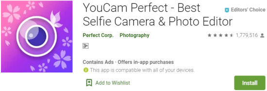 YouCam Perfect for Windows