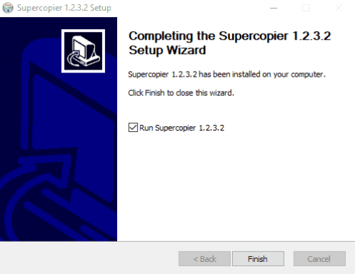 Supercopier for PC