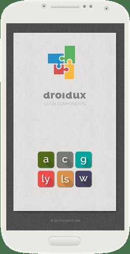 DroidUX UI/UX Components