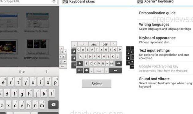 Xperia-Honami-i1-Tastatur