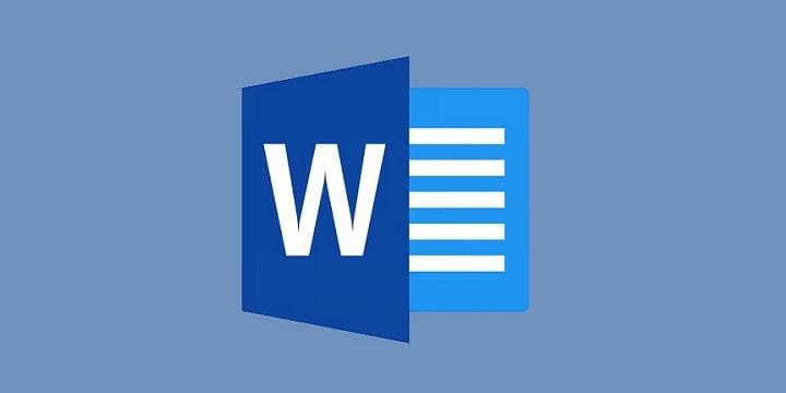Logo Microsoft Word.