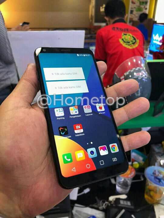 LG Q9 Hands-on image leaked online, reveals 18:9 display