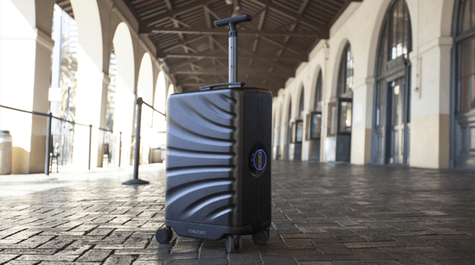 ROVER SPEED AI Robotic Suitcase will be the future travel companion