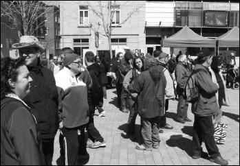 Un échantillon de la foule