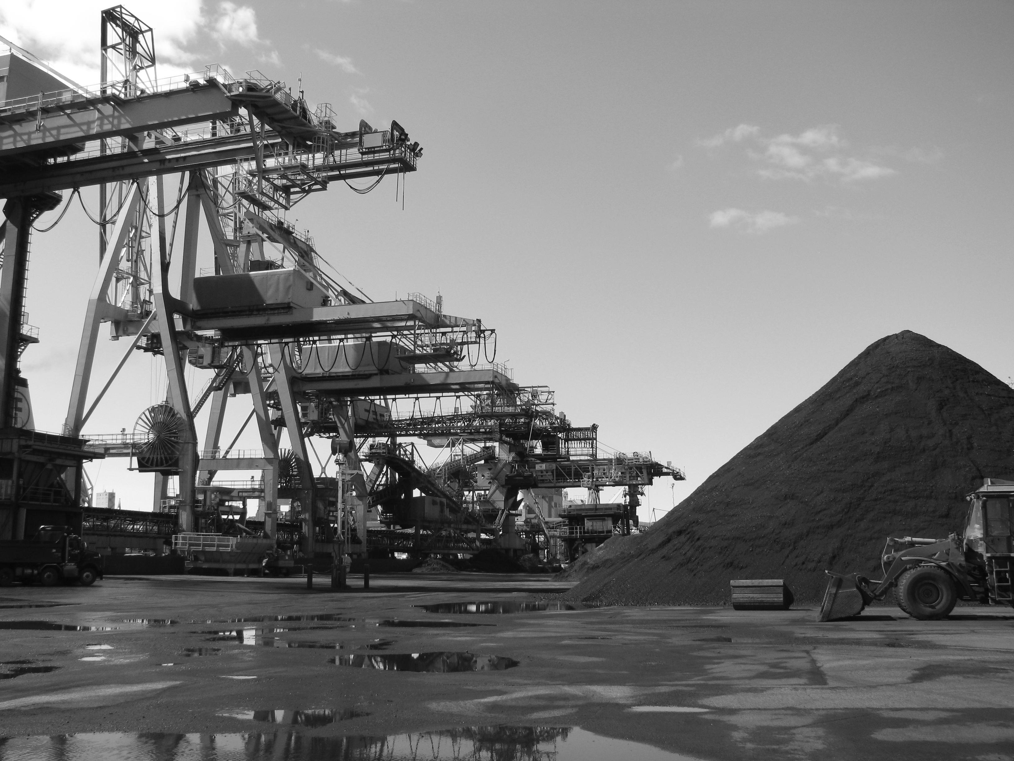 Vue du port dont les autorités prévoient doubler la surface. Photo: Pierre Mouterde