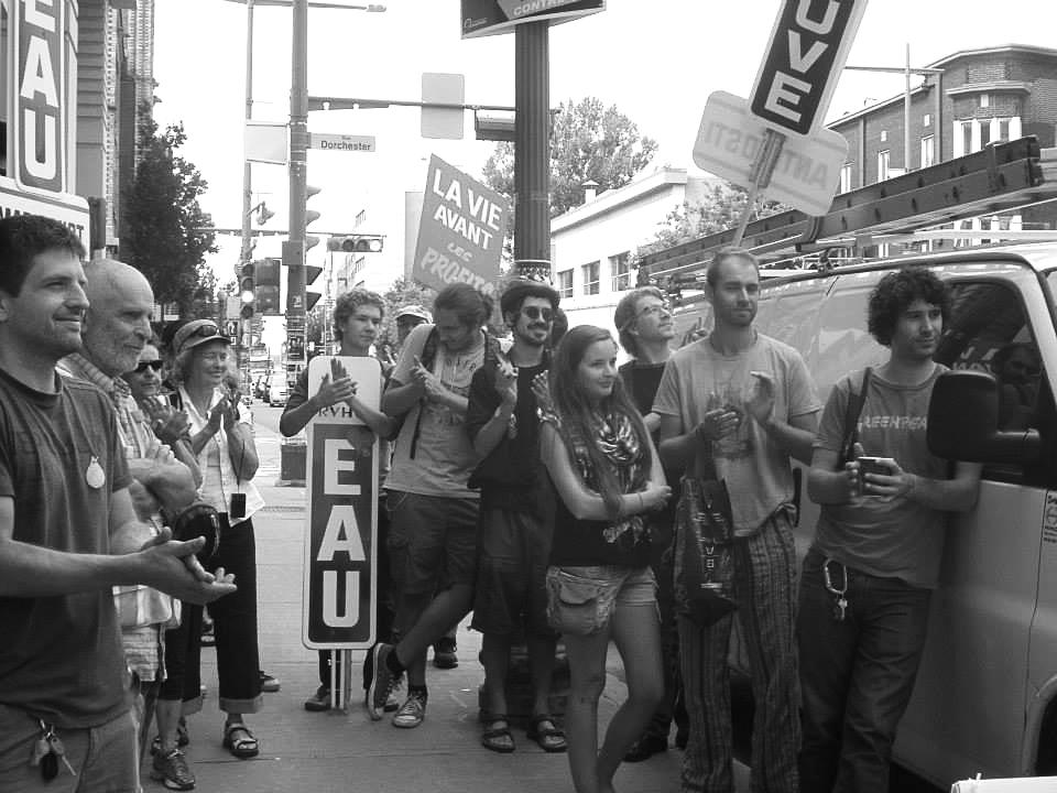Le 14 septembre dernier sur le boulevard Charest. Photo: Diane Vivier