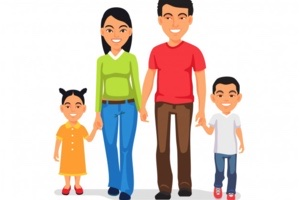 La fête des mères et des pères comme célébrations de la maternité et de la paternité
