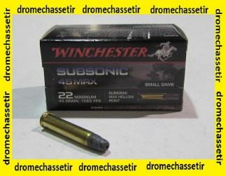 Boite 50 cartouches 22 Magnum