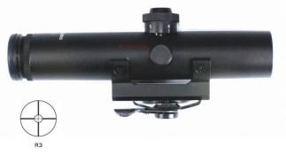 Lunette tactique pour poignée carry handle 4X22